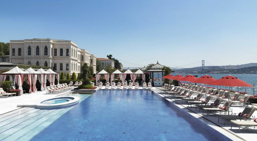 Four Seasons Bosphorus Istanbul, la promenade sur le Bosphore