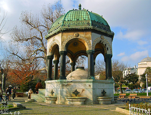 La Fontaine Allemand l'hippodrom Istanbul