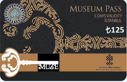 Carte Pass Muse Istanbul 2018