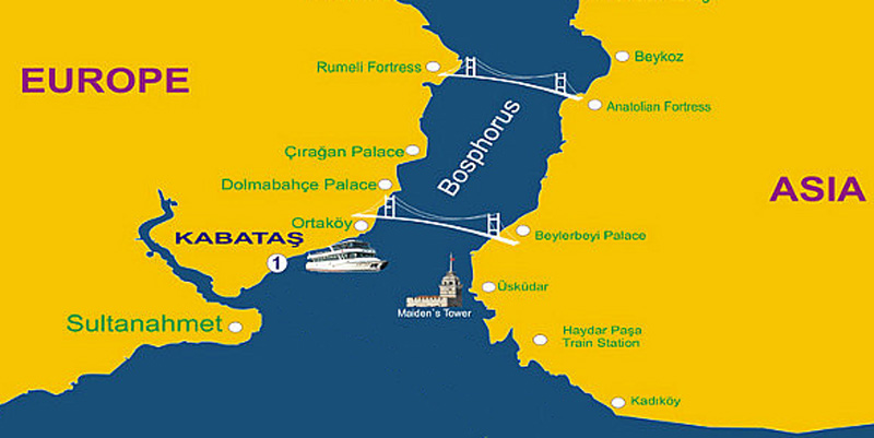visiter istanbul le bosphore